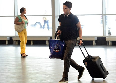 France consider banning Nasri for two years as they get tough with angry midfielder