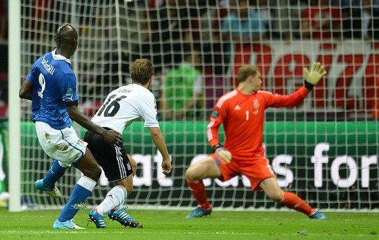 Germany 1 Italy 2: Magic Mario makes his mark as Azzurri extend tournament hoodoo