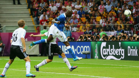 Balotelli double ends Germany dream