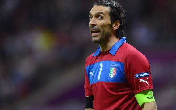 Buffon inspired by Italy fans on YouTube before Germany semi-final win