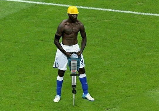 Funny Balotelli!