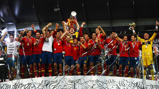 Spain make history with Euro triumph