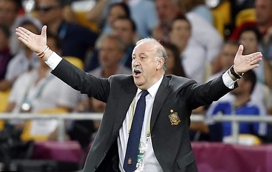 Spain coach Del Bosque basks in 'extraordinary' final performance