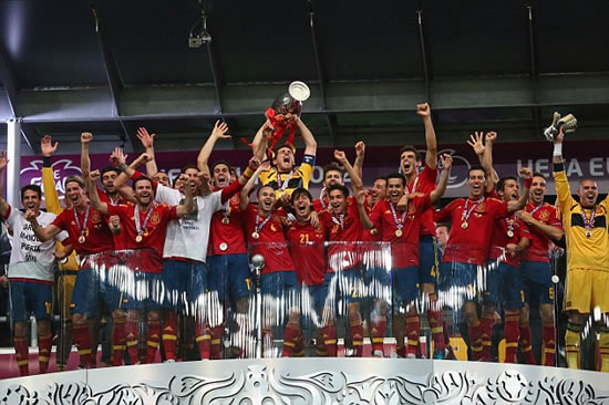 Spain 4 Italy 0: Silva, Alba, Torres and Mata the heroes as La Roja create history in Kiev