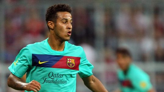 Barca's Thiago ruled out of Olympics