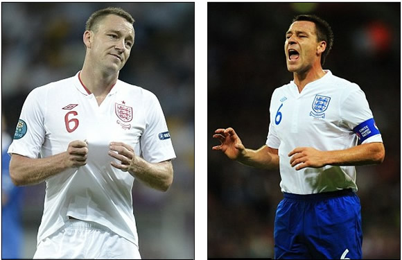 Terry quits! Former captain calls time on England career ahead of FA race hearing