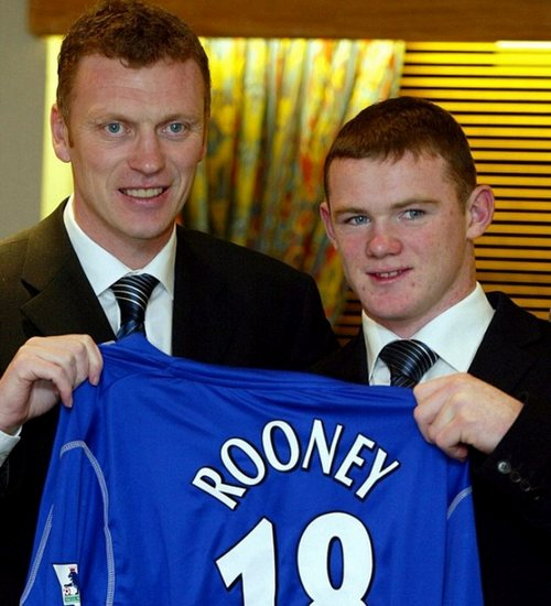 Wayne Rooney Debut Go Back Gallery For Wayne Rooney Everton Debut