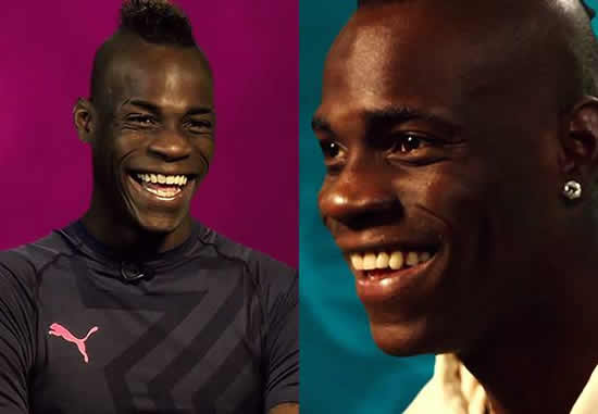 Balotelli: I'm the coolest player in the Italy squad ...
