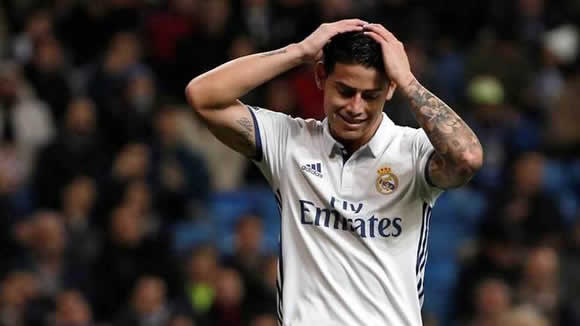 Real Madrid close the door to James Rodriguez