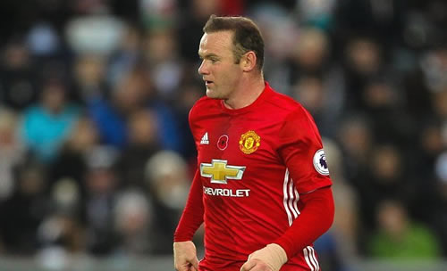 Two Chinese clubs plan £10M bids for Man Utd captain Rooney