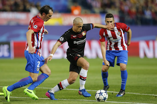 Atletico de Madrid 0 - 0 Bayer Leverkusen: Atletico Madrid through to Champions League last eight for fourth year in a row