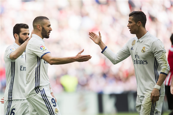 Athletic Bilbao 1 - 2 Real Madrid: Real Madrid extend lead over Barcelona with three points from Bilbao