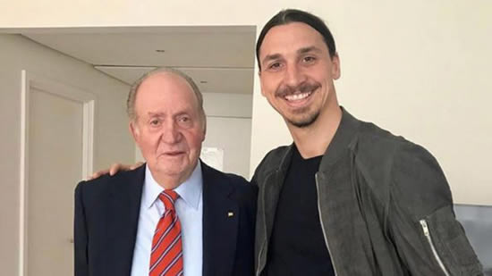 Ibrahimovic: One king recognising another