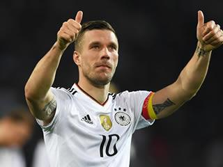 6eebde9ec Lukas Podolski scored a stunning goal to beat Gareth Southgate s England in  Dortmund Most of the nation has become cynical and jaded when it comes to  ...