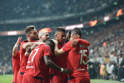Besiktas 2 - 1 Lyon: Lyon hold nerve to win penalty shoot-out and reach Europa League semi-finals