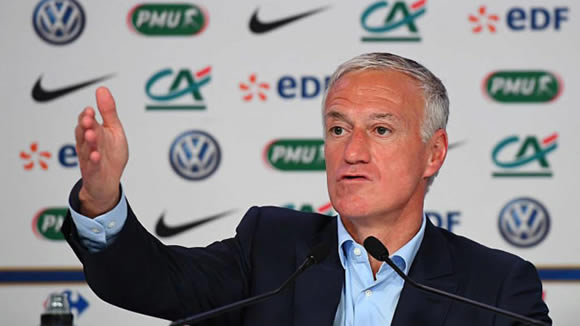Deschamps again leaves Benzema out of France squad