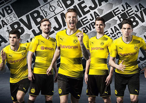 YELLOW FALL? Borussia Dortmund's new kit is splitting fans' opinion