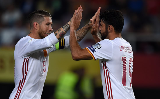 FYR Macedonia 1 - 2 Spain: David Silva and Diego Costa score but Macedonia give Spain a World Cup fright