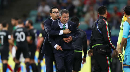 Osorio apologises for foul-mouthed outburst in 'almost violent' Mexico win