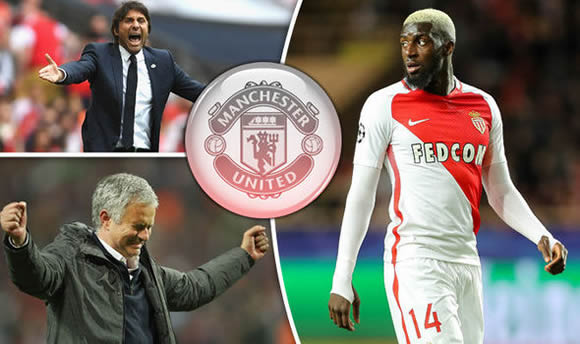 Man Utd plan another move to beat Chelsea as Jose Mourinho eyes Tiemoue Bakayoko swoop
