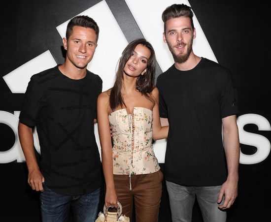 Emily Ratajkowski, Lana Del Rey and celebs meet Man Utd stars on night out in LA