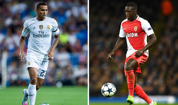 Manchester City set to sign Benjamin Mendy and Danilo on stunning double deal