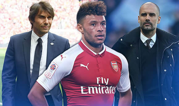 Chelsea and Manchester City to battle it out for Arsenal star Alex Oxlade-Chamberlain
