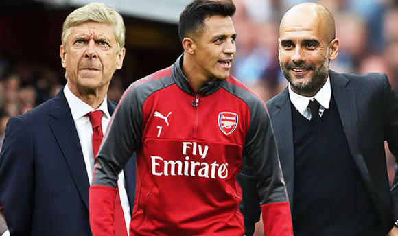 Alexis Sanchez: Arsene Wenger admits Arsenal board could sell star to Manchester City