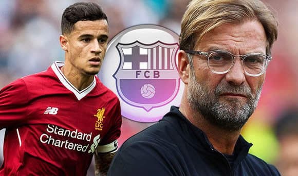 Philippe Coutinho to Barcelona: Liverpool REJECT fresh £118m bid for star man