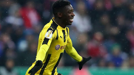 Dembele is Barcelona's most expensive buy