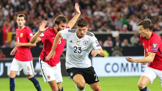 Germany 6 - 0 Norway: Germany crush Norway to maintain perfect World Cup qualifying record