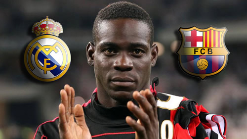 Balotelli: I like Real Madrid, but if Barcelona call me I wouldn't cry