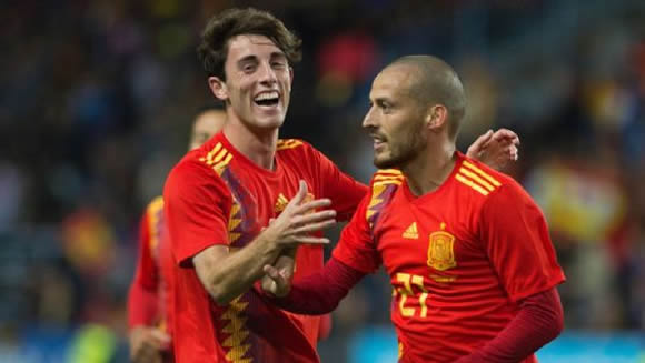Spain 5 - 0 Costa Rica: David Silva's brace helps Spain dominate Costa Rica in friendly