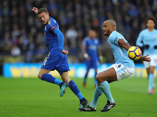 Leicester City 0 - 2 Manchester City: Jesus and De Bruyne on target as Manchester City's winning run goes on
