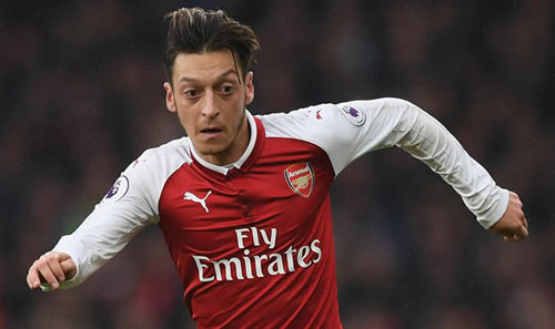 Barcelona make their move for Mesut Ozil by launching first transfer bid