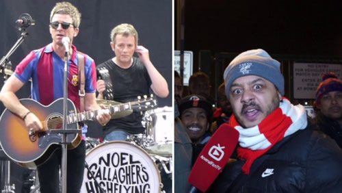 Noel Gallagher's Arsenal Fan TV Impressions Are Spot On