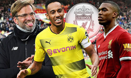 Pierre-Emerick Aubameyang link with Liverpool and Daniel Sturridge eyes departure
