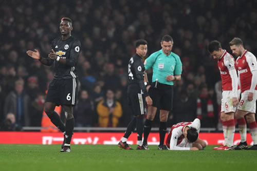 Paul Pogba faces further punishment after red card against Arsenal