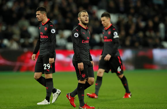 West Ham United 0 - 0 Arsenal: Arsenal held to goalless draw at West Ham