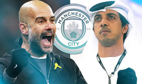 Manchester City to offer Pep Guardiola £100m new contract