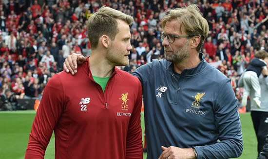 Liverpool boss Jurgen Klopp plans crunch talks with under-threat goalkeeper Simon Mignolet