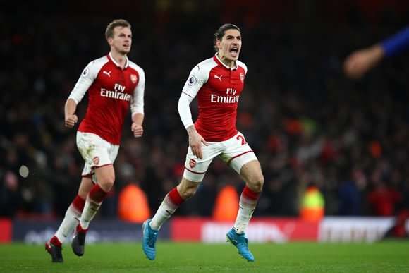 Arsenal 2 - 2 Chelsea FC: Gunners grab point from Chelsea thriller