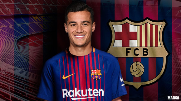 Official: Coutinho joins Barcelona in €160m transfer