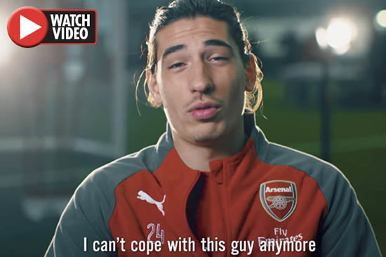 Arsenal star Hector Bellerin reveals he 'can't cope' with team-mate anymore