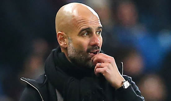 Man City could throw away Premier League title despite lead - Pep Guardiola