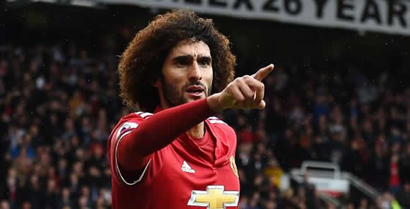 Mourinho's advice for injured Fellaini: Shut up and sign your new contract