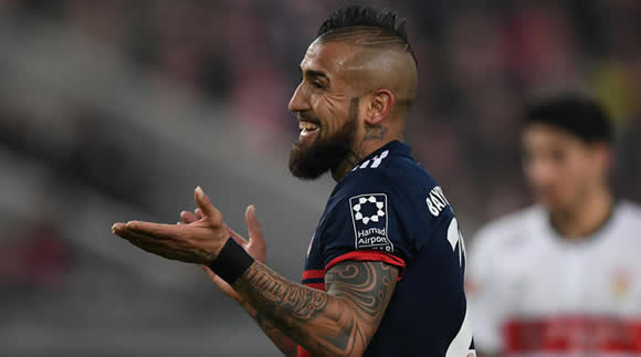 Vidal eyes new Bayern contract despite transfer talk