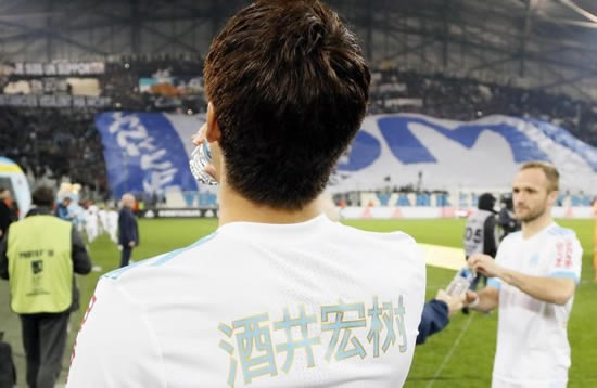 Why were PSG and Marseille wearing Chinese lettering on their shirts?