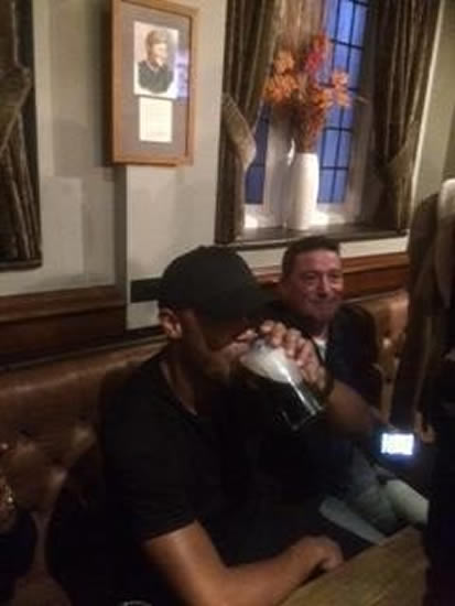 Man City players hit the pub to celebrate winning EPL title thanks to West Brom's victory at Man Utd