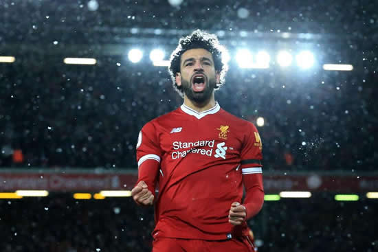 Cristiano Ronaldo admits Mohamed Salah will give him competition for the Ballon d'Or… if he recovers from his shoulder injury